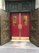 Entrance to the Boston Athenaeum.