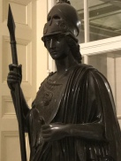 Statue of Athena at the Boston Athenaeum.